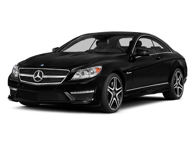 Obsidian Black Metallic 2014 Mercedes-Benz CL-Class Pictures CL-Class Coupe 2D CL63 AMG V8 Turbo photos front view