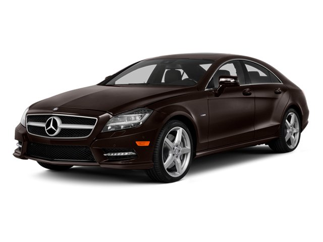 Cuprite Brown Metallic 2014 Mercedes-Benz CLS-Class Pictures CLS-Class Sedan 4D CLS550 photos front view