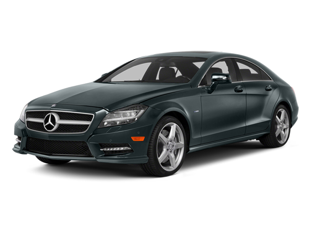 Steel Gray Metallic 2014 Mercedes-Benz CLS-Class Pictures CLS-Class Sedan 4D CLS550 photos front view