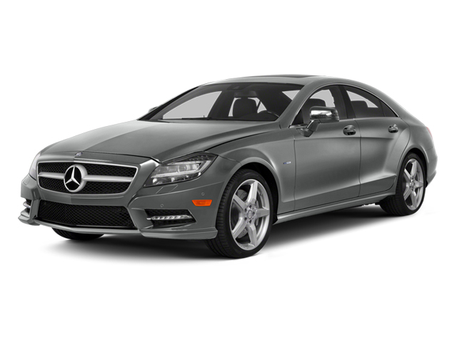 Palladium Silver Metallic 2014 Mercedes-Benz CLS-Class Pictures CLS-Class Sedan 4D CLS550 photos front view