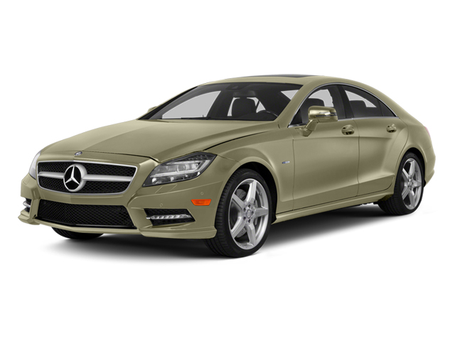Pearl Beige Metallic 2014 Mercedes-Benz CLS-Class Pictures CLS-Class Sedan 4D CLS550 AWD photos front view