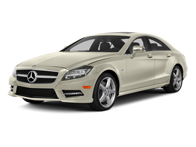 Diamond White Metallic 2014 Mercedes-Benz CLS-Class Pictures CLS-Class Sedan 4D CLS550 AWD photos front view