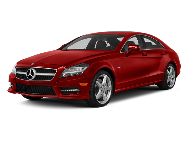 Cardinal Red Metallic 2014 Mercedes-Benz CLS-Class Pictures CLS-Class Sedan 4D CLS550 photos front view