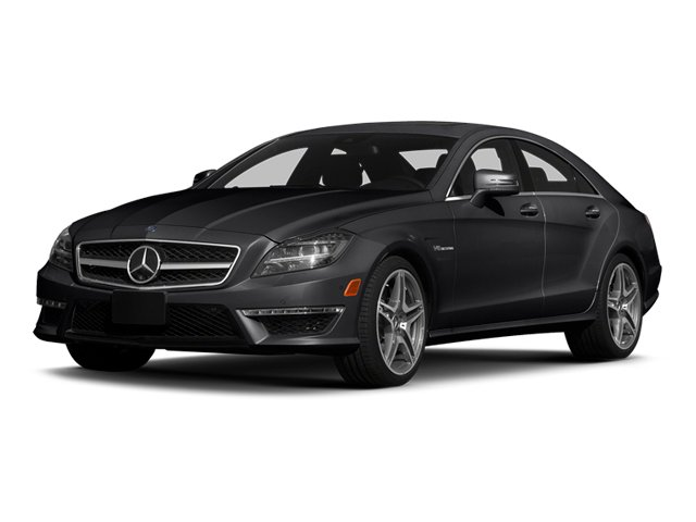 Steel Gray Metallic 2014 Mercedes-Benz CLS-Class Pictures CLS-Class Sedan 4D CLS63 AMG S AWD photos front view
