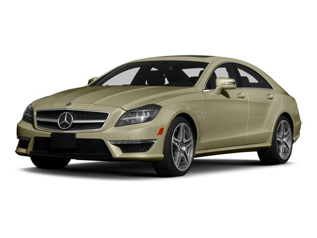 Pearl Beige Metallic 2014 Mercedes-Benz CLS-Class Pictures CLS-Class Sedan 4D CLS63 AMG AWD photos front view