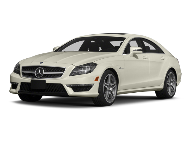 Diamond White Metallic 2014 Mercedes-Benz CLS-Class Pictures CLS-Class Sedan 4D CLS63 AMG S AWD photos front view