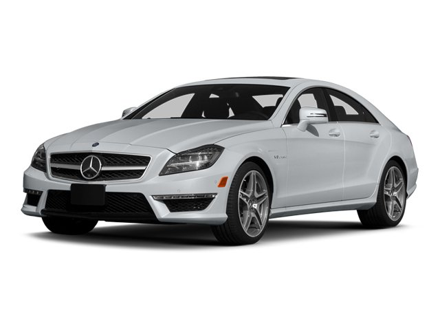 Diamond Silver Metallic 2014 Mercedes-Benz CLS-Class Pictures CLS-Class Sedan 4D CLS63 AMG S AWD photos front view