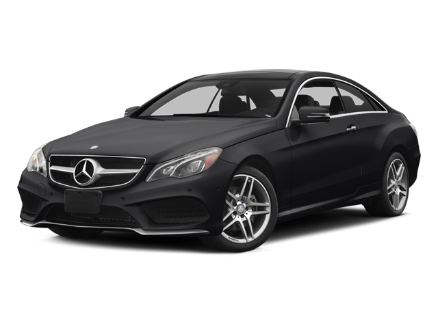 Black 2014 Mercedes-Benz E-Class Pictures E-Class Coupe 2D E350 AWD V6 photos front view