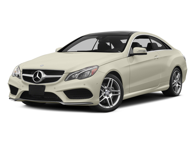 Diamond White Metallic 2014 Mercedes-Benz E-Class Pictures E-Class Coupe 2D E350 AWD V6 photos front view