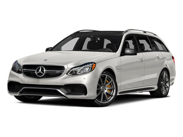 designo Magno Cashmere White (Matte Finish) 2014 Mercedes-Benz E-Class Pictures E-Class Wagon 4D E63 AMG S AWD V8 Turbo photos front view