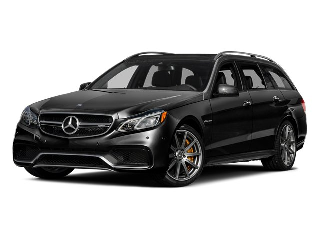 Obsidian Black Metallic 2014 Mercedes-Benz E-Class Pictures E-Class Wagon 4D E63 AMG S AWD V8 Turbo photos front view