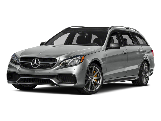 Palladium Silver Metallic 2014 Mercedes-Benz E-Class Pictures E-Class Wagon 4D E63 AMG S AWD V8 Turbo photos front view