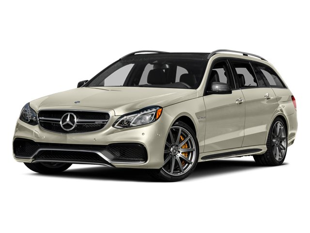 Diamond White Metallic 2014 Mercedes-Benz E-Class Pictures E-Class Wagon 4D E63 AMG S AWD V8 Turbo photos front view