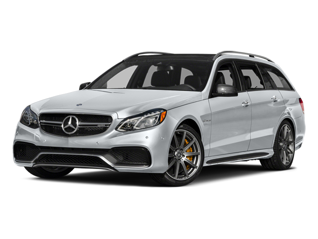 Diamond Silver Metallic 2014 Mercedes-Benz E-Class Pictures E-Class Wagon 4D E63 AMG S AWD V8 Turbo photos front view