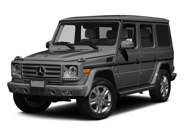 designo Graphite 2014 Mercedes-Benz G-Class Pictures G-Class 4 Door Utility 4Matic photos front view