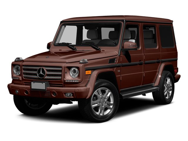 designo Mystic Brown 2014 Mercedes-Benz G-Class Pictures G-Class 4 Door Utility 4Matic photos front view