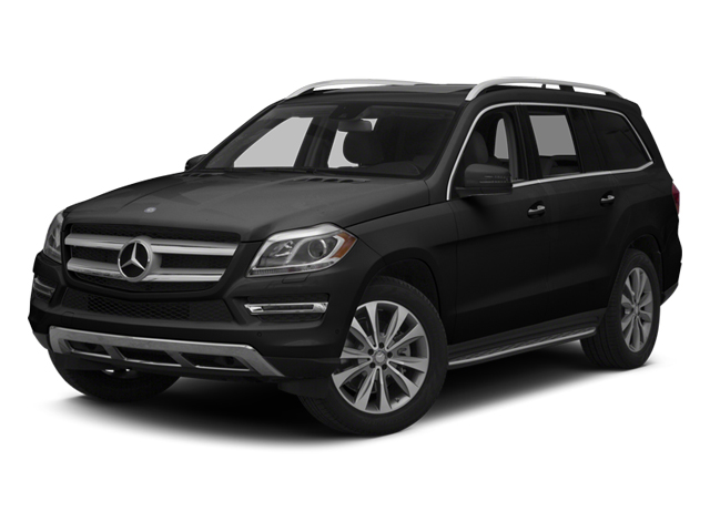 Obsidian Black Metallic 2014 Mercedes-Benz GL-Class Pictures GL-Class Utility 4D GL450 4WD V8 photos front view