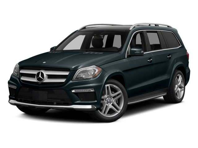 Steel Gray Metallic 2014 Mercedes-Benz GL-Class Pictures GL-Class Utility 4D GL550 4WD V8 photos front view