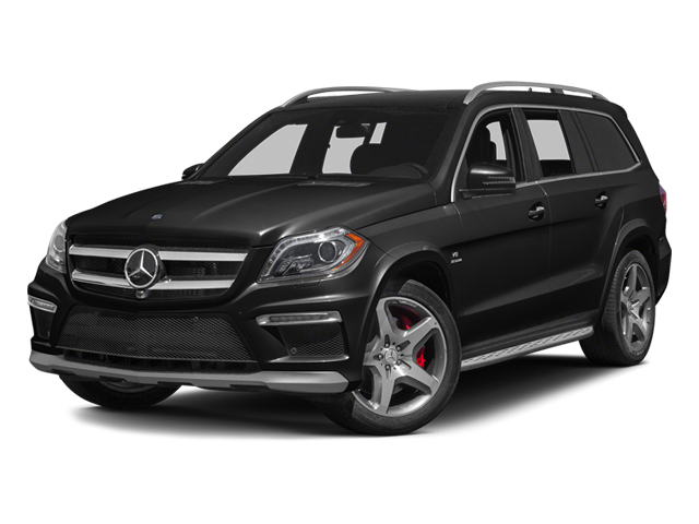 Obsidian Black Metallic 2014 Mercedes-Benz GL-Class Pictures GL-Class Utility 4D GL63 AMG 4WD V8 photos front view