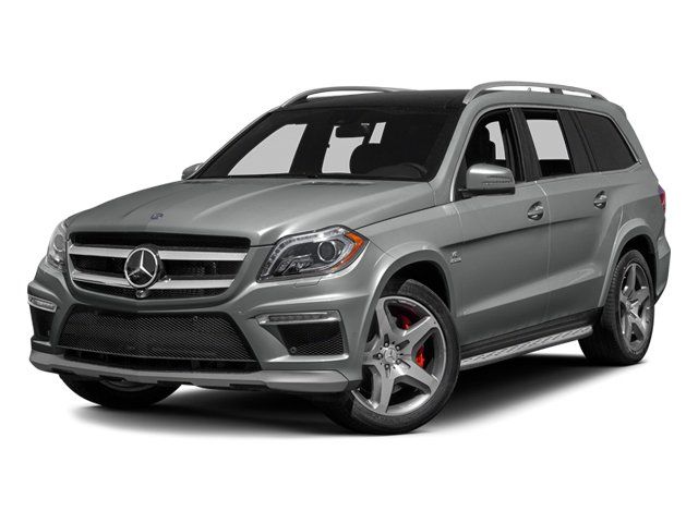 Palladium Silver Metallic 2014 Mercedes-Benz GL-Class Pictures GL-Class Utility 4D GL63 AMG 4WD V8 photos front view