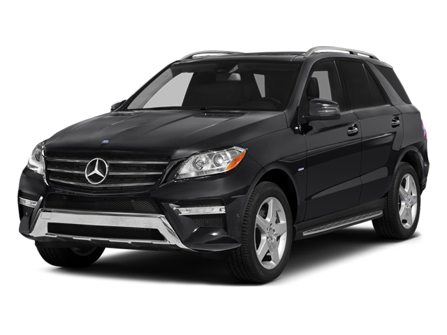 Black 2014 Mercedes-Benz M-Class Pictures M-Class Utility 4D ML550 AWD V8 Turbo photos front view