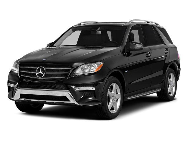 Obsidian Black Metallic 2014 Mercedes-Benz M-Class Pictures M-Class Utility 4D ML550 AWD V8 Turbo photos front view