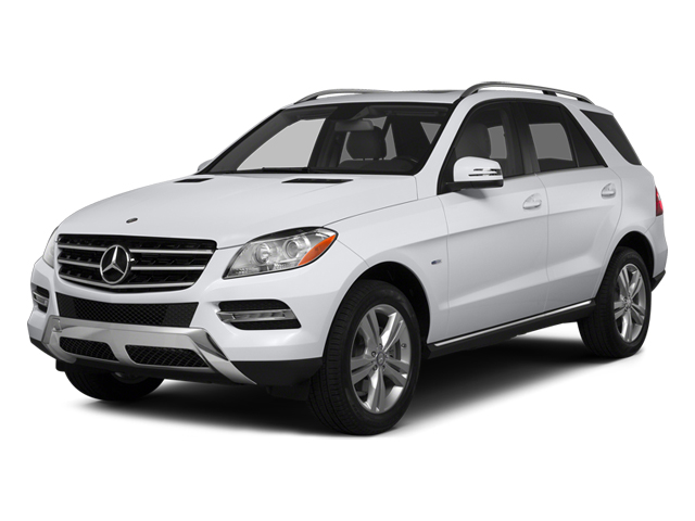 Polar White 2014 Mercedes-Benz M-Class Pictures M-Class Utility 4D ML350 2WD V6 photos front view
