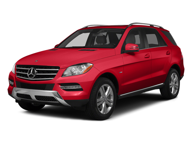 Cinnabar Red Metallic 2014 Mercedes-Benz M-Class Pictures M-Class Utility 4D ML350 2WD V6 photos front view