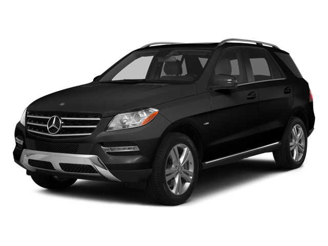 Obsidian Black Metallic 2014 Mercedes-Benz M-Class Pictures M-Class Utility 4D ML350 2WD V6 photos front view
