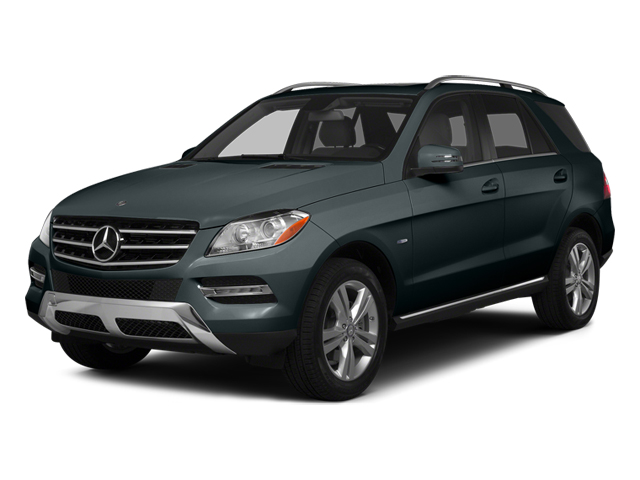 Steel Gray Metallic 2014 Mercedes-Benz M-Class Pictures M-Class Utility 4D ML350 AWD V6 photos front view