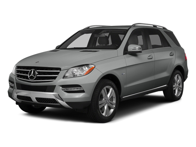 Palladium Silver Metallic 2014 Mercedes-Benz M-Class Pictures M-Class Utility 4D ML350 2WD V6 photos front view