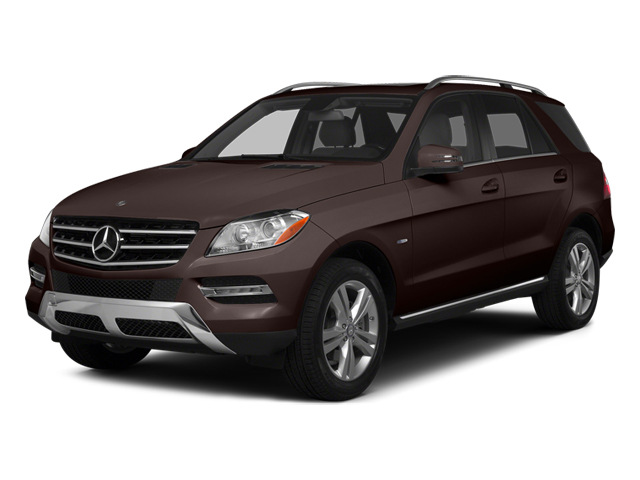 Dakota Brown Metallic 2014 Mercedes-Benz M-Class Pictures M-Class Utility 4D ML350 2WD V6 photos front view