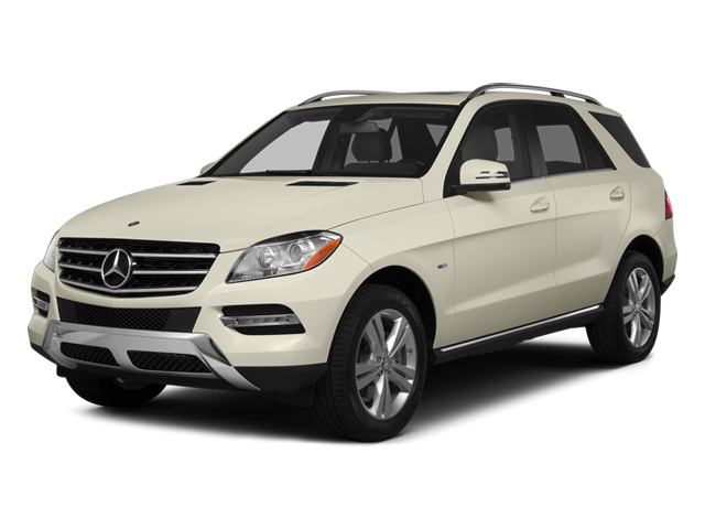 Diamond White Metallic 2014 Mercedes-Benz M-Class Pictures M-Class Utility 4D ML350 2WD V6 photos front view