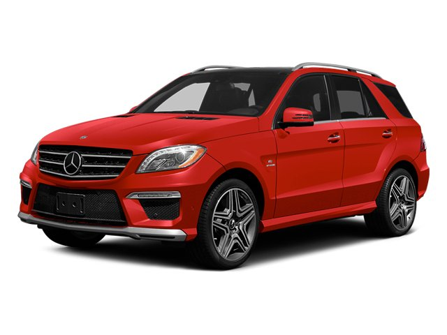Cinnabar Red Metallic 2014 Mercedes-Benz M-Class Pictures M-Class Utility 4D ML63 AMG AWD photos front view