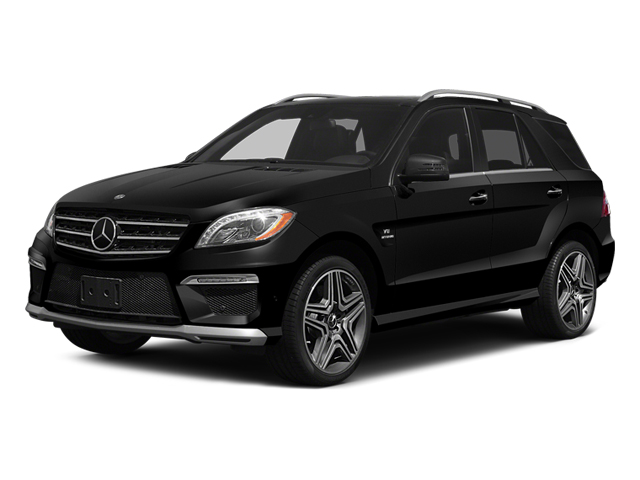 Obsidian Black Metallic 2014 Mercedes-Benz M-Class Pictures M-Class Utility 4D ML63 AMG AWD photos front view