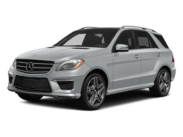 Iridium Silver Metallic 2014 Mercedes-Benz M-Class Pictures M-Class Utility 4D ML63 AMG AWD photos front view