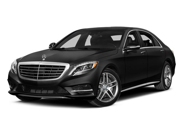 Magnetite Black Metallic 2014 Mercedes-Benz S-Class Pictures S-Class Sedan 4D S550 AWD photos front view