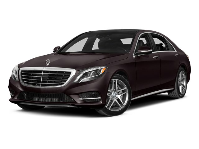 Ruby Black Metallic 2014 Mercedes-Benz S-Class Pictures S-Class Sedan 4D S550 AWD photos front view