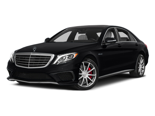 Black 2014 Mercedes-Benz S-Class Pictures S-Class Sedan 4D S63 AMG AWD V8 Turbo photos front view