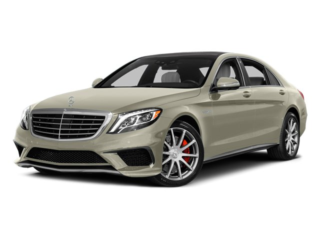 Diamond White Metallic 2014 Mercedes-Benz S-Class Pictures S-Class Sedan 4D S63 AMG AWD V8 Turbo photos front view