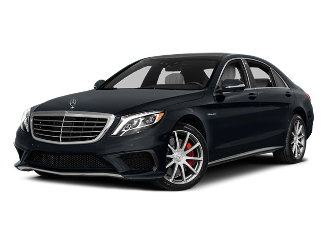 Anthracite Blue Metallic 2014 Mercedes-Benz S-Class Pictures S-Class Sedan 4D S63 AMG AWD V8 Turbo photos front view
