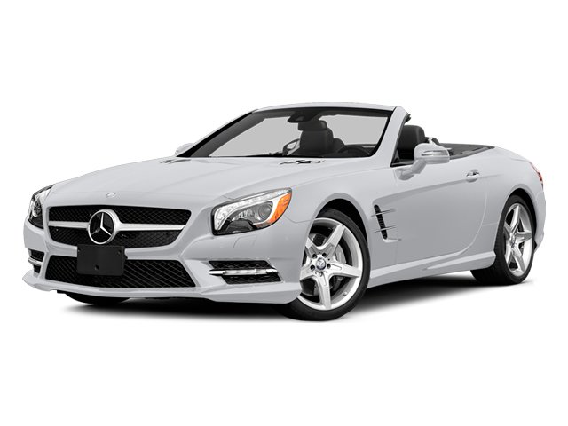 Polar White 2014 Mercedes-Benz SL-Class Pictures SL-Class Roadster 2D SL550 V8 Turbo photos front view