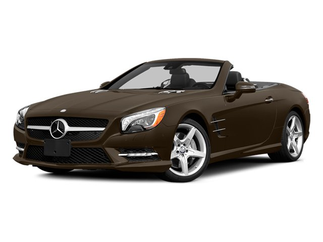 Dolomite Brown 2014 Mercedes-Benz SL-Class Pictures SL-Class Roadster 2D SL550 V8 Turbo photos front view