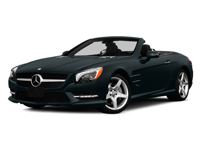 Steel Gray Metallic 2014 Mercedes-Benz SL-Class Pictures SL-Class Roadster 2D SL550 V8 Turbo photos front view