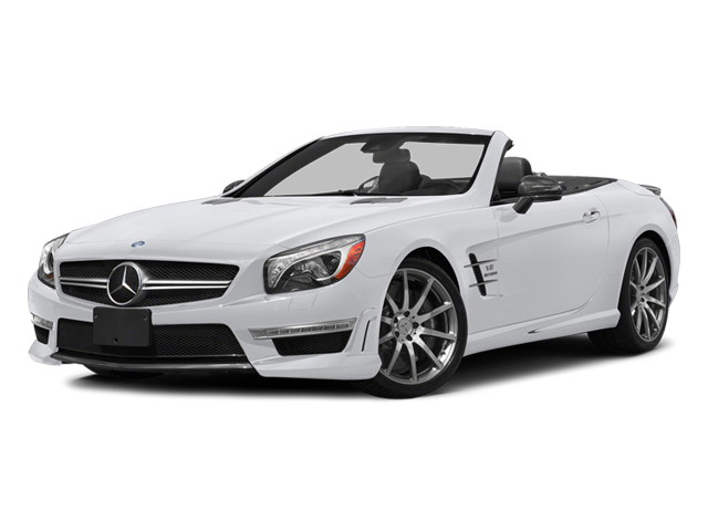 Polar White 2014 Mercedes-Benz SL-Class Pictures SL-Class Roadster 2D SL63 AMG V8 Turbo photos front view