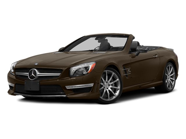 Dolomite Brown 2014 Mercedes-Benz SL-Class Pictures SL-Class Roadster 2D SL63 AMG V8 Turbo photos front view