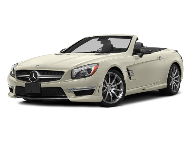 Diamond White Metallic 2014 Mercedes-Benz SL-Class Pictures SL-Class Roadster 2D SL63 AMG V8 Turbo photos front view