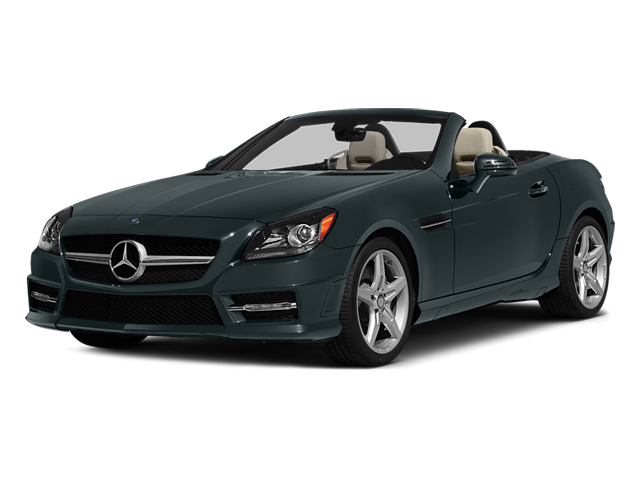 Steel Gray Metallic 2014 Mercedes-Benz SLK-Class Pictures SLK-Class Roadster 2D SLK250 I4 Turbo photos front view