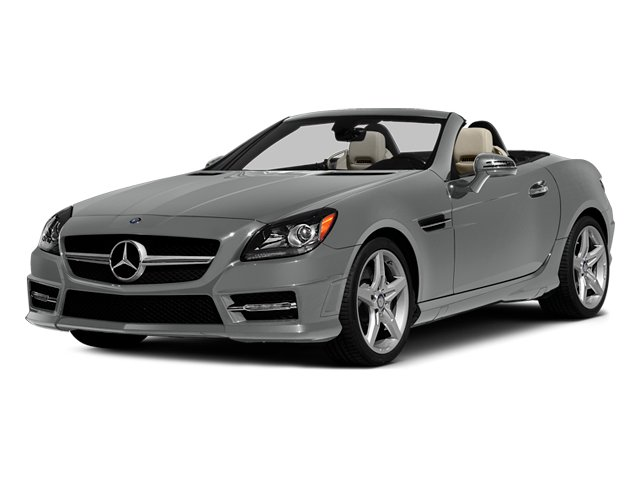 Palladium Silver Metallic 2014 Mercedes-Benz SLK-Class Pictures SLK-Class Roadster 2D SLK250 I4 Turbo photos front view