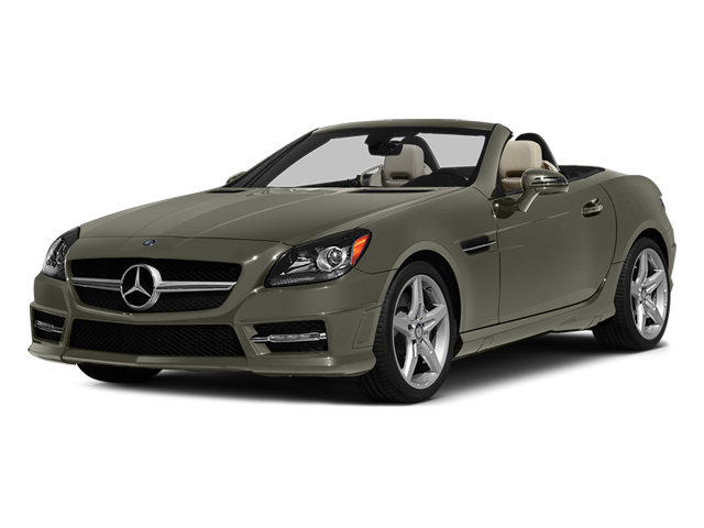 Indium Gray Metallic 2014 Mercedes-Benz SLK-Class Pictures SLK-Class Roadster 2D SLK250 I4 Turbo photos front view
